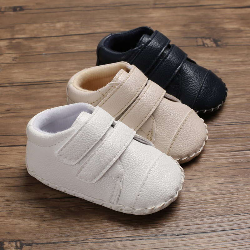 Spring And Autumn 0-1 Years Old Men And Women Baby Rubber Sole Casual Non-slip Shoes Baby Toddler Shoes