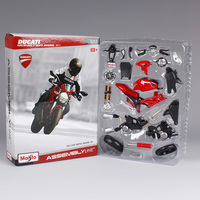 Maisto 1:12 Monster 696 2011 motorcycle diecast metal model kits for ducati red racing motorcycle diecast motorbike model 39189