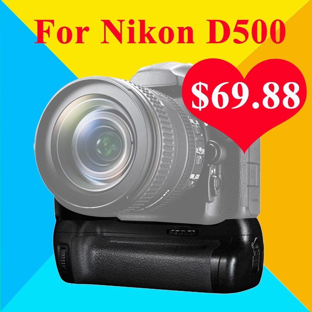 ФОТО Pixel Vertax D17 For Nikon D500 DSLR Camera Vs Meike MK-DR500 MK-D500 As MB-D17 Professional Battery Grip