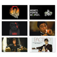 AL PACINO SCARFACE Movie Silk Poster Wall Art Posters and Prints 30x53cm 60x106cm For Bedroom Home Decor