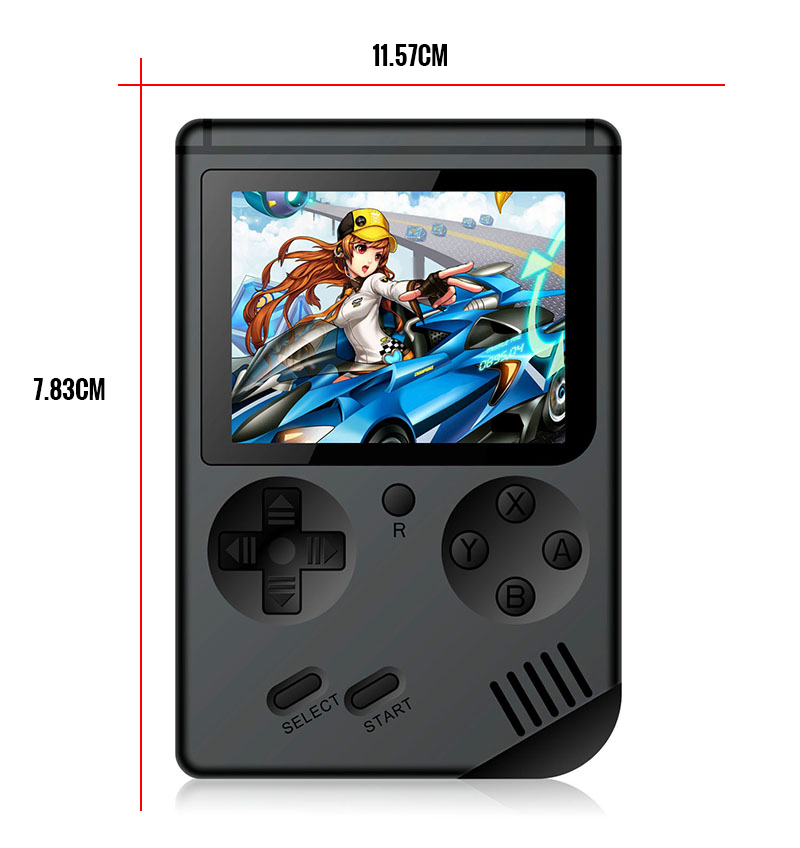Image 2 - Coolbaby Retro Mini 2 Rs 6A Handheld Game Console Emulator Built In 168 Games Video Games Handheld Console(Black)-in Handheld Game Players from Consumer Electronics