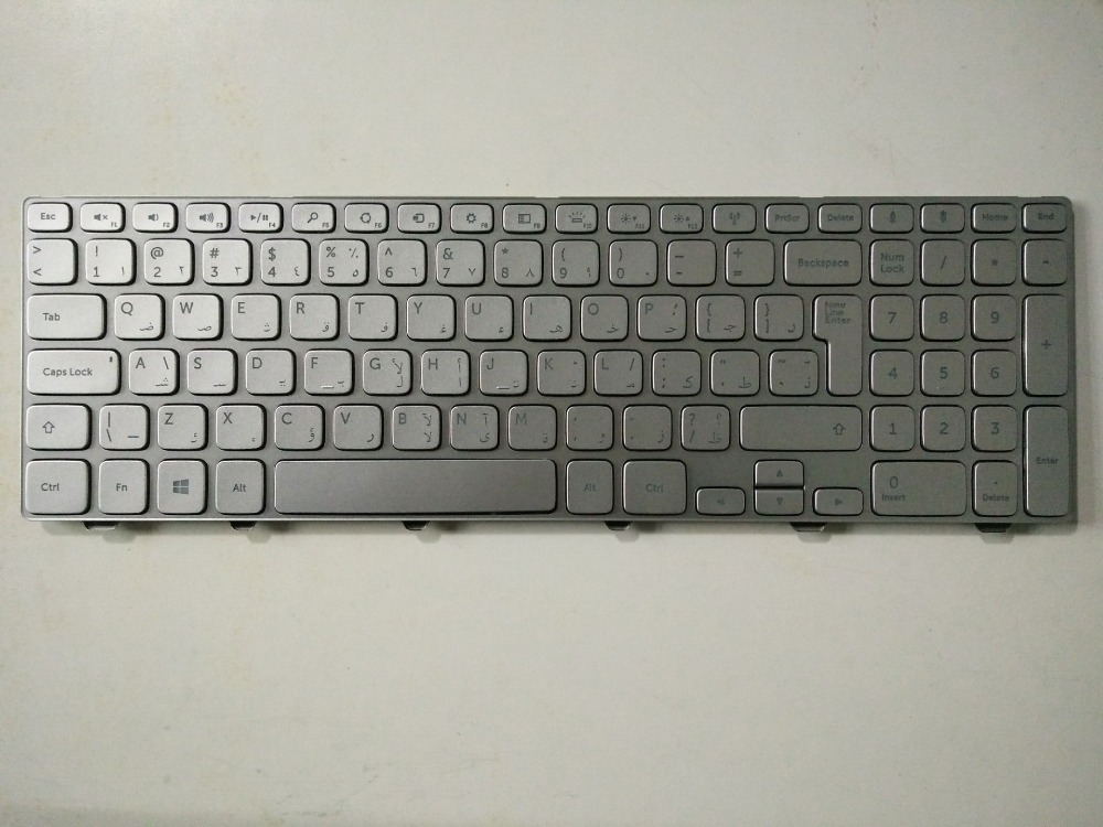 New notebook laptop keyboard for Dell Inspiron 15 7537 7737 backlit AR layout