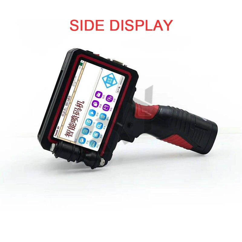 GUYX 25.4mm Handheld smart inkjet printer Multi-language version minicomputer Product / Date / Food Packaging Coder
