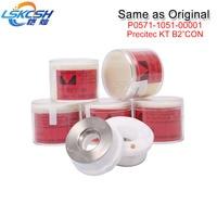 LSKCSH 100Pcs ERMAKSAN Co2/fiber laser precitec ceramic P0571 1051 00001 Precitec ceramic KT B2ins CON same quality as original