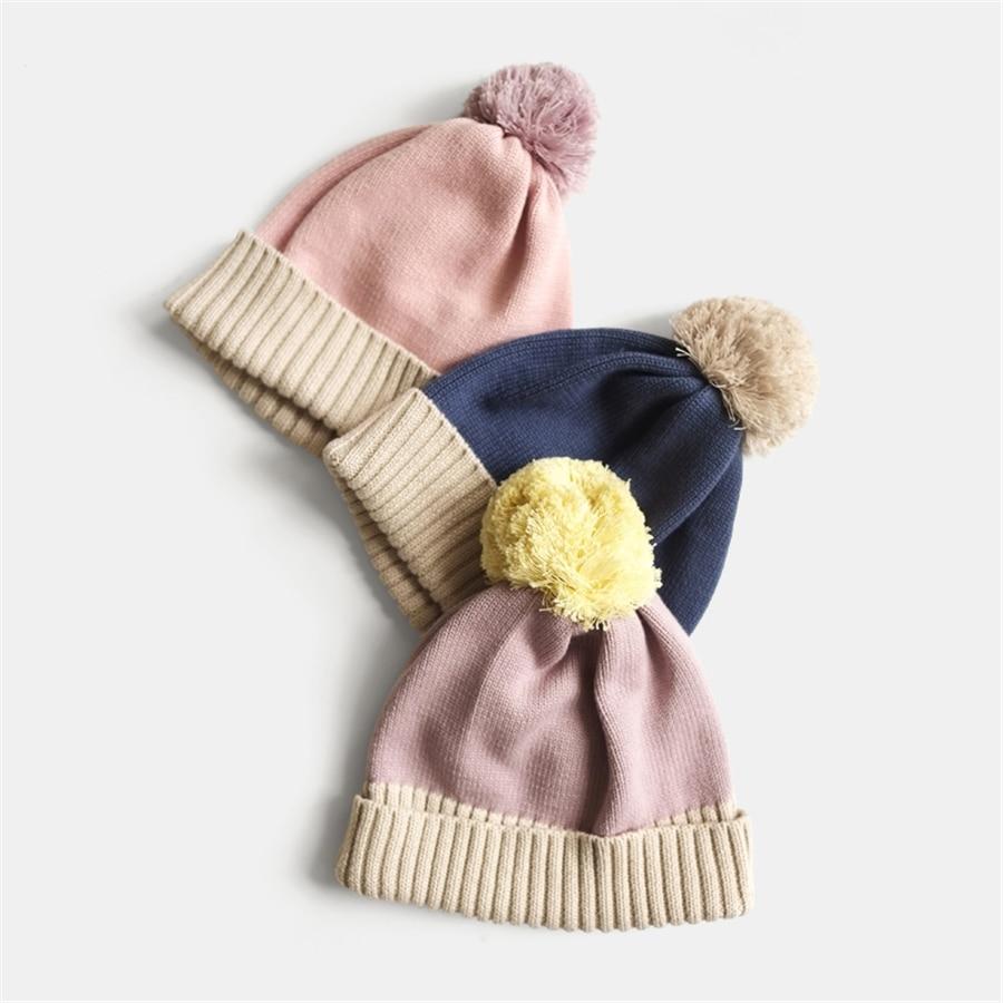 Winter Warm Newborn Baby Accessories Toddler Unisex Caps For Kids Fashion Soft Cute Cotton Warm Baby Hat Autumn 70D0491 сандалии salina