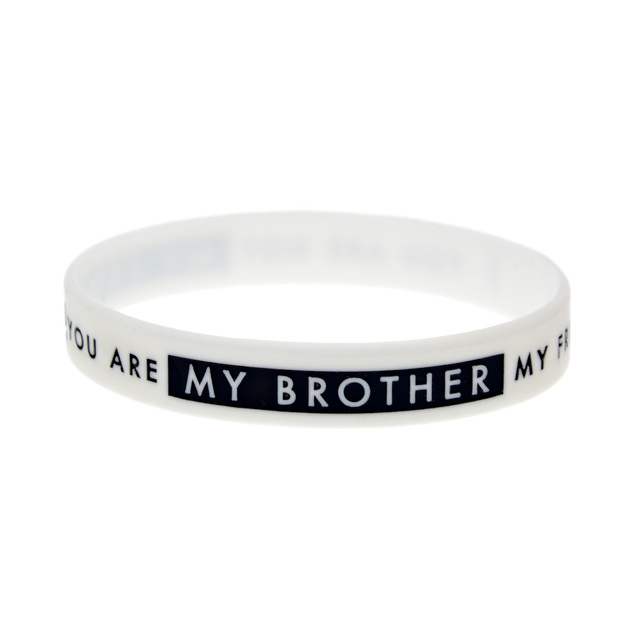 Onebandahouse 1pc Slogan Bracelet You Are Not My Friend You Are My