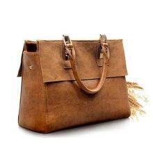 2016 Fashion Vintage Split Cattle Leather Tote Women Messenger ladies hand Bags Dollar Price Kors Handbag Bolsas Brand Retro