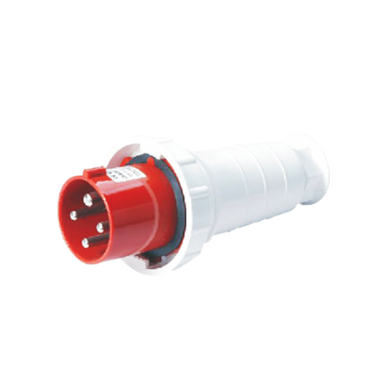 125A 4Pin industrial plug connector SF-044 cable connector 380-415V~3P+E Waterproof IP67 125a 4pin 380 415v novel industrial waterproof appliance socket waterproof grade ip67 sfn 5442