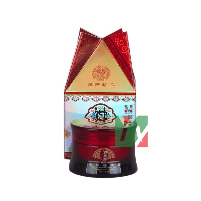 Shen cao tang pecas eliminación activa de la piel belleza para blanquear la piel crema facial 30 g/pcs