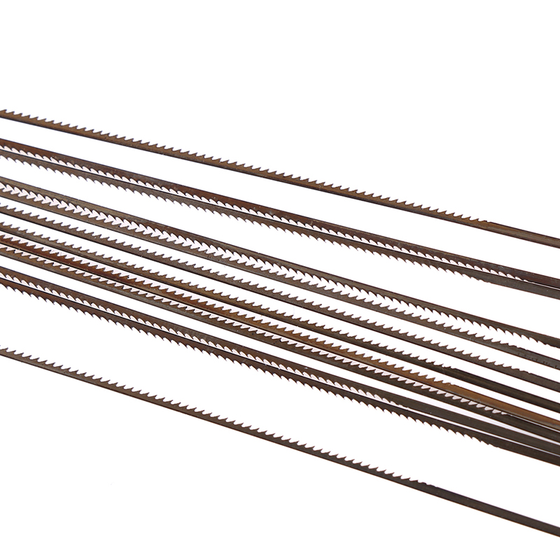 12pcs Mini 13cm Diamond Wire Saw Blade Cutter Jewelry Metal Cutting Jig Blades Woodworking Hand Craft Tools Scroll Spiral Teeth