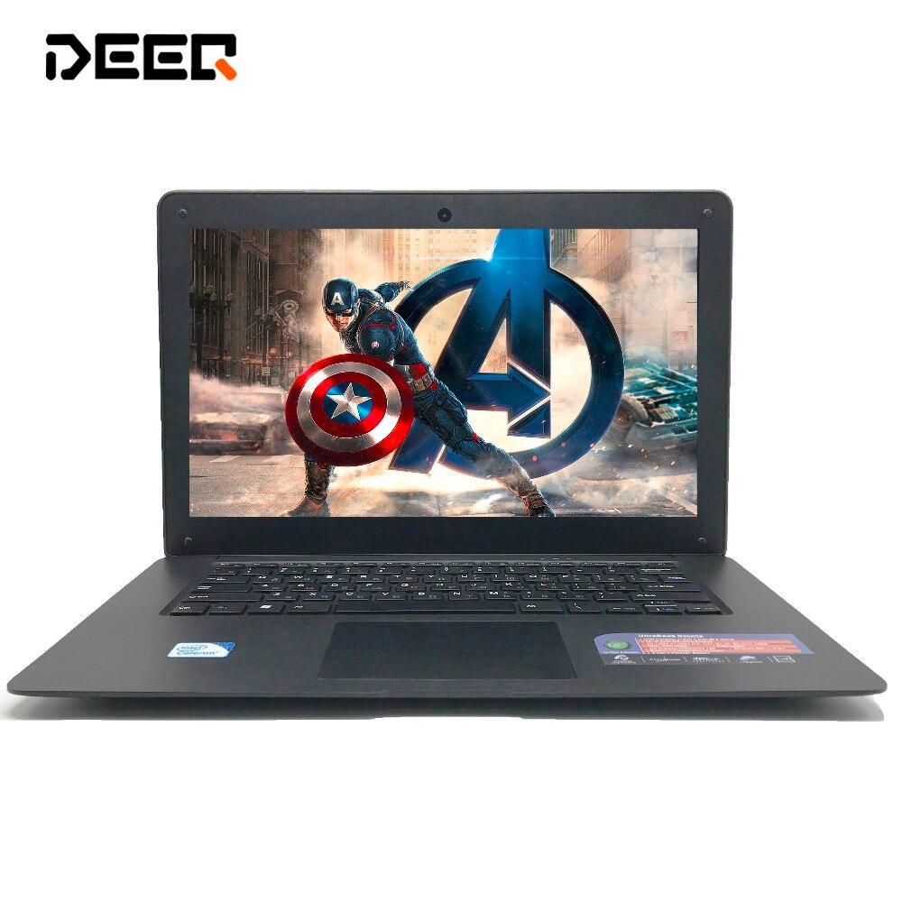 DEEQ 14 pouces mince ordinateur portable INTEL Pentium N3520 8G ram 1 to HDD windows 10 ordinateur portable