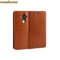 For Huawei Mate 9 Pro MateS Crazy Horse Genuine Leather Case For Huawei Mate 9 7