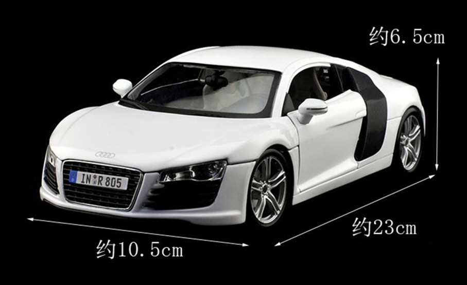 Free Shipping Maisto Model Alloy Cars AUDI R Good Gift For - Best audi car model