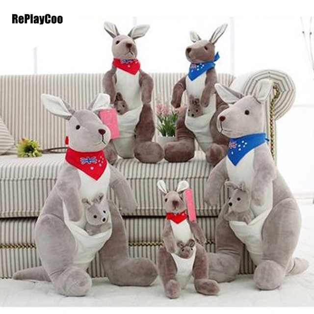 50cm 20 Cute Kangaroo Plush Toys Doll Soft Toy Kangaroos Stuffed
