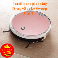 2017 Hot Sale Original 2 In 1 X620 Smart Robot Vacuum Cleaner Cleaning Appliances 300ML Water