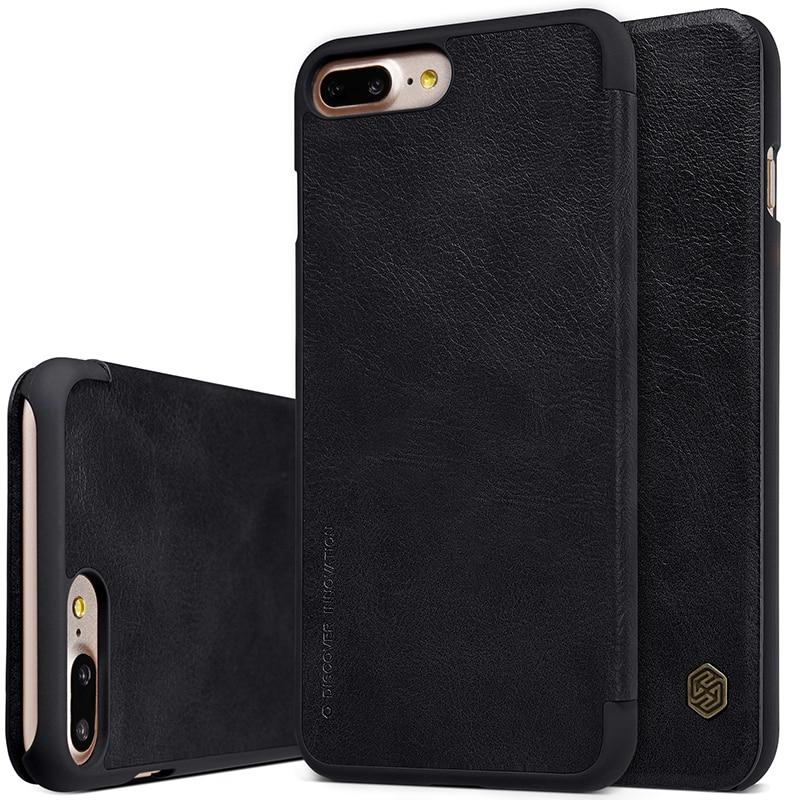 NILLKIN För Apple iPhone 7 Plus Väska Högkvalitativt läderfodral - Reservdelar och tillbehör för mobiltelefoner - Foto 2