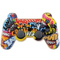 Wireless Game Controller Double Vibration Joysticks Sixaxis Gamepads Joypad For Sony PS3 Playstation 3 (Comic)