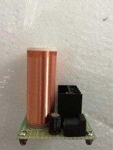 Тесла катушкой электроники производства DIY разделения воздуха света энергосберегающие лампы