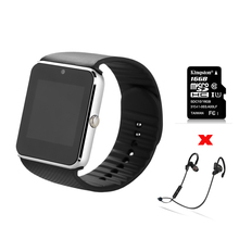 ZAOYIMALL Bluetooth smart watch GT08 wearable devices support SIM TF Card for iphone huaiwei xiaomi Android Phone pk u8 dz09