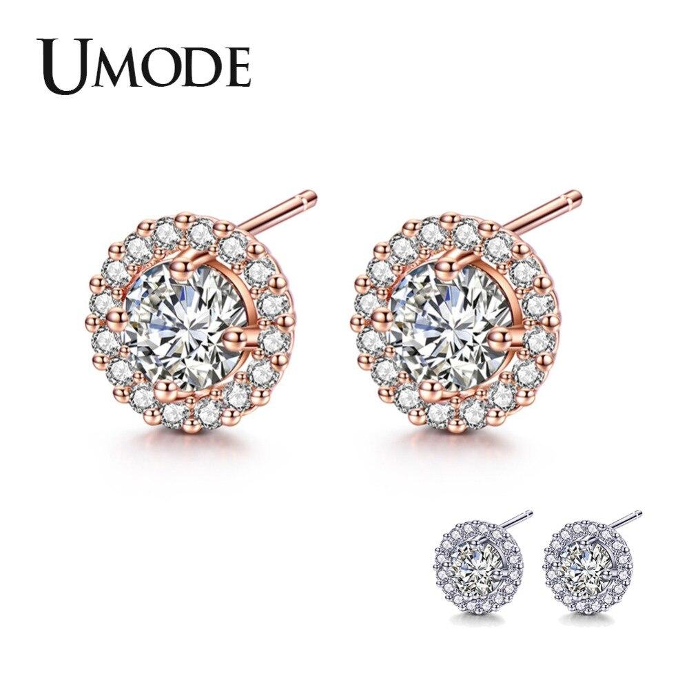 Crystal Drop Oil Butterfly Earrings Korean Korean Ear Stud Earrings jewelry BC