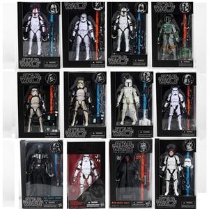 Image 3 - Figure The Black Series 06  03 Sandtrooper 02 Darth Maul Action Figures Toys 6inch 17cm