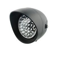7 LED Motorcycle Bullet Headlight Headlamp Front Light For Harley Bobber Chopper Yamaha Honda Suzuki Kawasaki