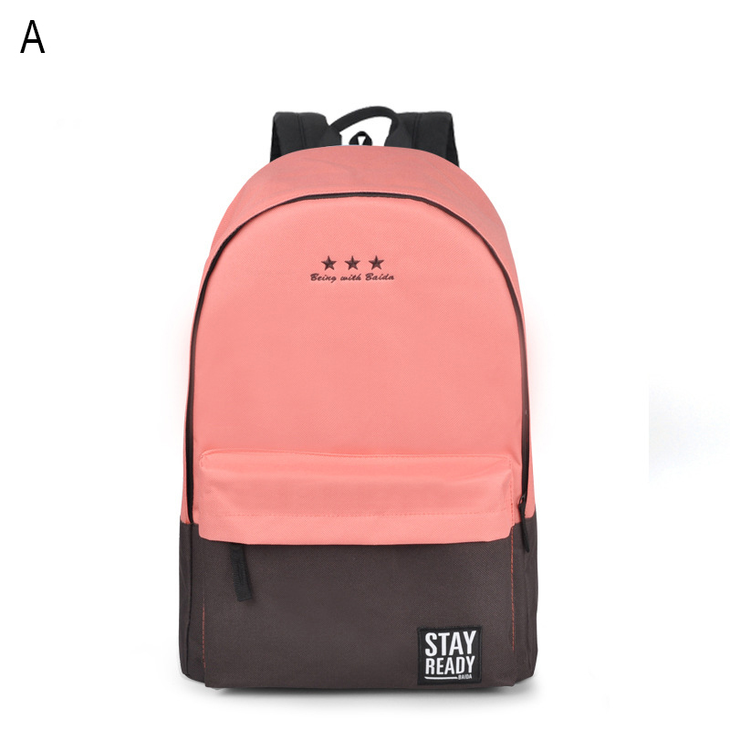 50PCS/LOT Fashion Backpack Women Children Schoolbag Back Pack Leisure Korean Ladies Knapsack Laptop Travel Bags for School B014