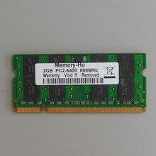 NEW 2GB PC2-6400 DDR2-800 800Mhz DDR2 Laptop Memory SODIMM CL6.0 Notebook RAM Non-Ecc 200pins Low density