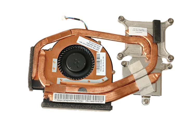 New Original For Lenovo ThinkPad W520 Laptop CPU Cooling Fan Heatsink 04W1574 04W1576 new original for lenovo t530 t530i integrated cpu cooling heatsink fan 04w6905 04w6904 04w6906