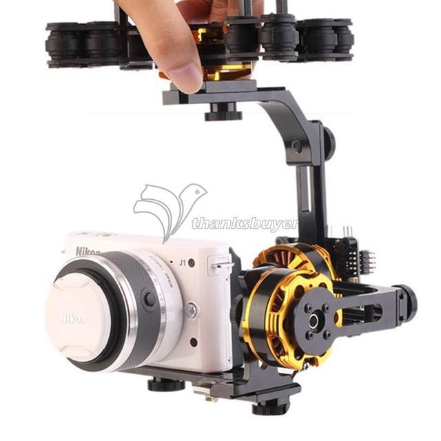 Dys 3 ejes sin escobillas gimbal mount soporte soporte con 3 motores para sony nex ildc cámara fotografía