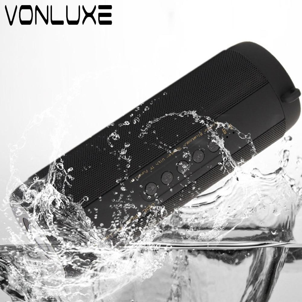 Tragbare Wasserdichte Bluetooth Lautsprecher Subwoofer Stereo Mini Drahtlose Lautsprecher Verstärker für Xiaomi...