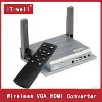 Беспроводной VGA HDMI конвертер ведущий Airplay/Miracast/оконные рамы Widi конференции/Образование/домашний театр Wi Fi зеркалирование ведущий