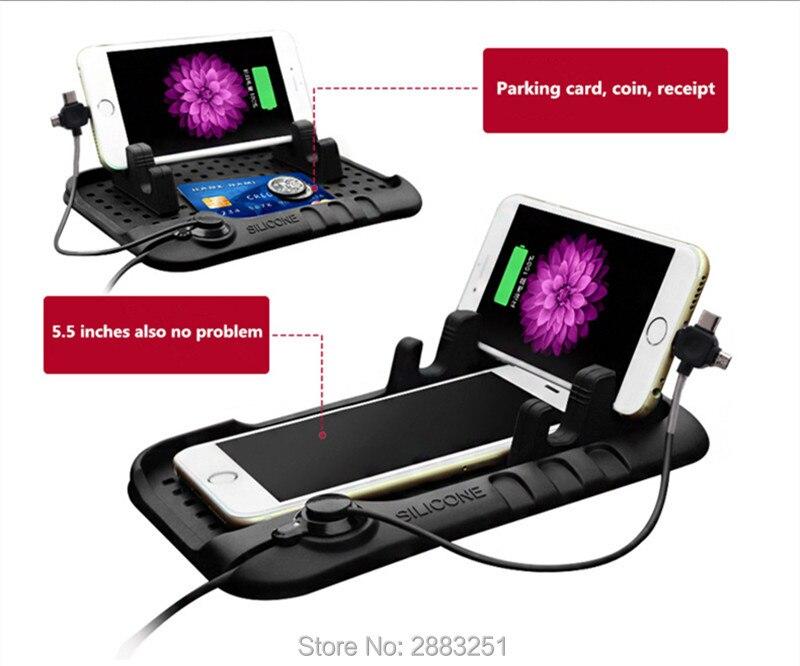 Car styling Multi functional Car Navigation Magic Sticky for Nissan qashqai tiida almera juke primera x trail car accessories|Anti-Slip Mat| |  - title=