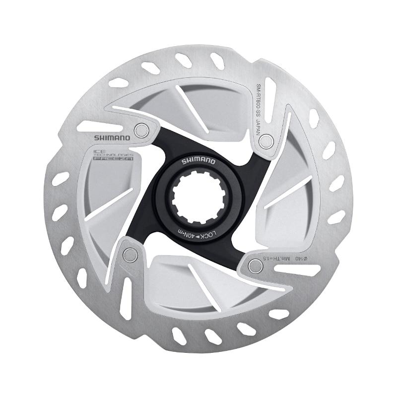 Shimano ULTEGRA SM RT800 Road Bike Disc Brake Rotor Center Lock ICE-TECH 140mm 160mm shimano rt81 160mm 6 inch ice technologies center lock disc rotors