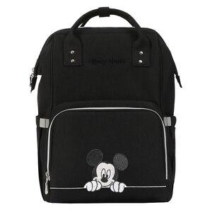 Image 1 - Bolsa de pañales de Minnie Mickey, mochila para bebé, mochila para bebé
