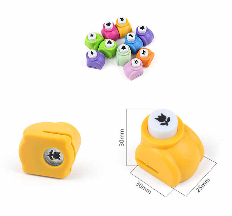 Manual Embossing Device Punch Paper Scrapbook Embossing Tools DIY Scrapbooking Stickers Hollow Pattern for Baby Photo Album Book