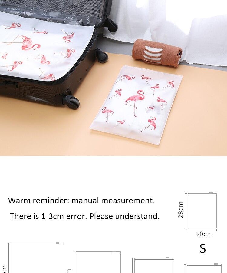Soomile-Transparent-multi-purpose-waterproof-sealed-travel-bag-Flamingo-EVA-Travel-Organizer-Clothes-and-shoes-sorting-bags-NEW_02