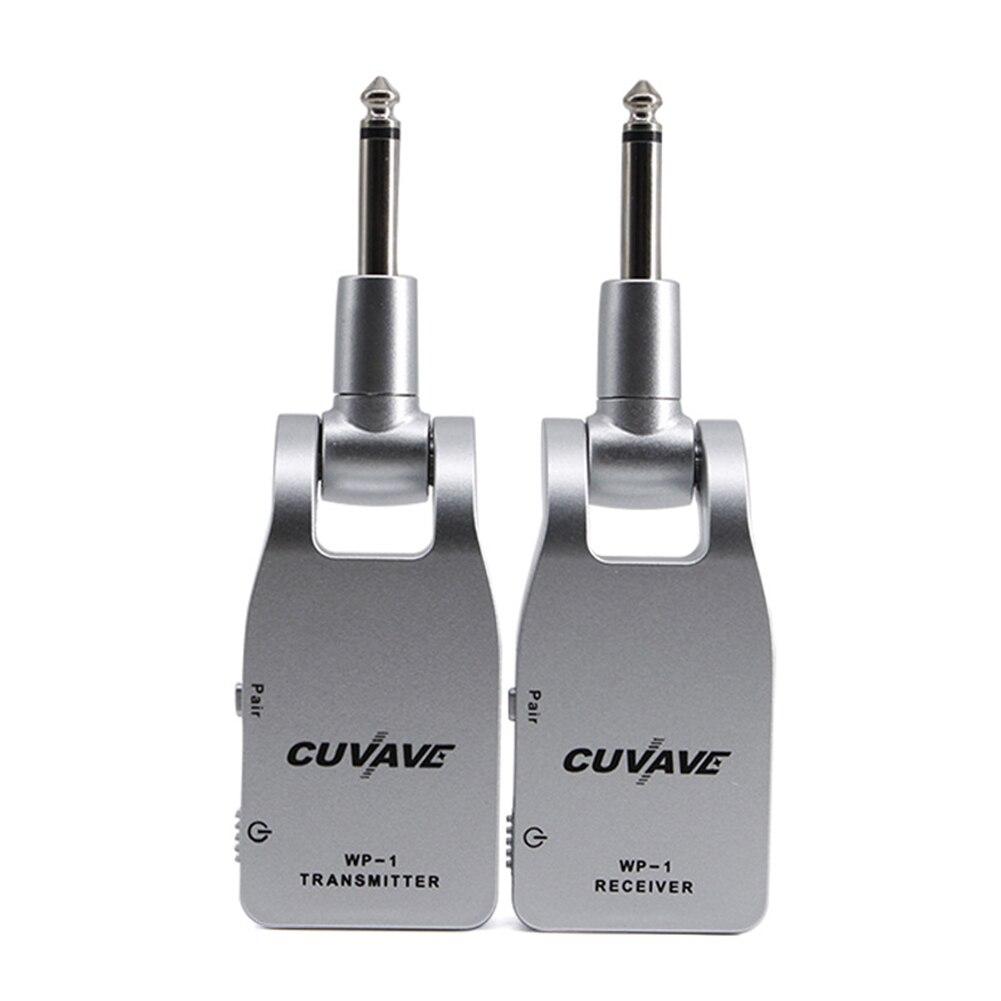 30 m gamme Rechargeable Audio Portable accessoires 2.4G guitare transmetteur Mini batterie intégrée sans fil Durable avec récepteur