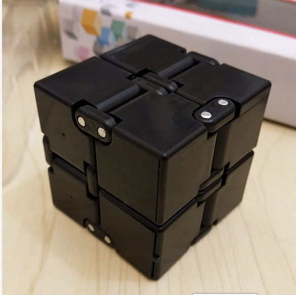2019 Hot ABS Infinity Cube For Stress Relief Fidget Anti Anxiety Stress Magic Cube For Kids Adult Mini Fidget Toy Finger EDC Toy