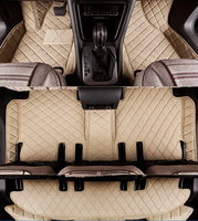 Customized Full Covered Car Floor Mats For Mercedes Benz GLS 7seats Waterproof Durable Carpets For GLS
