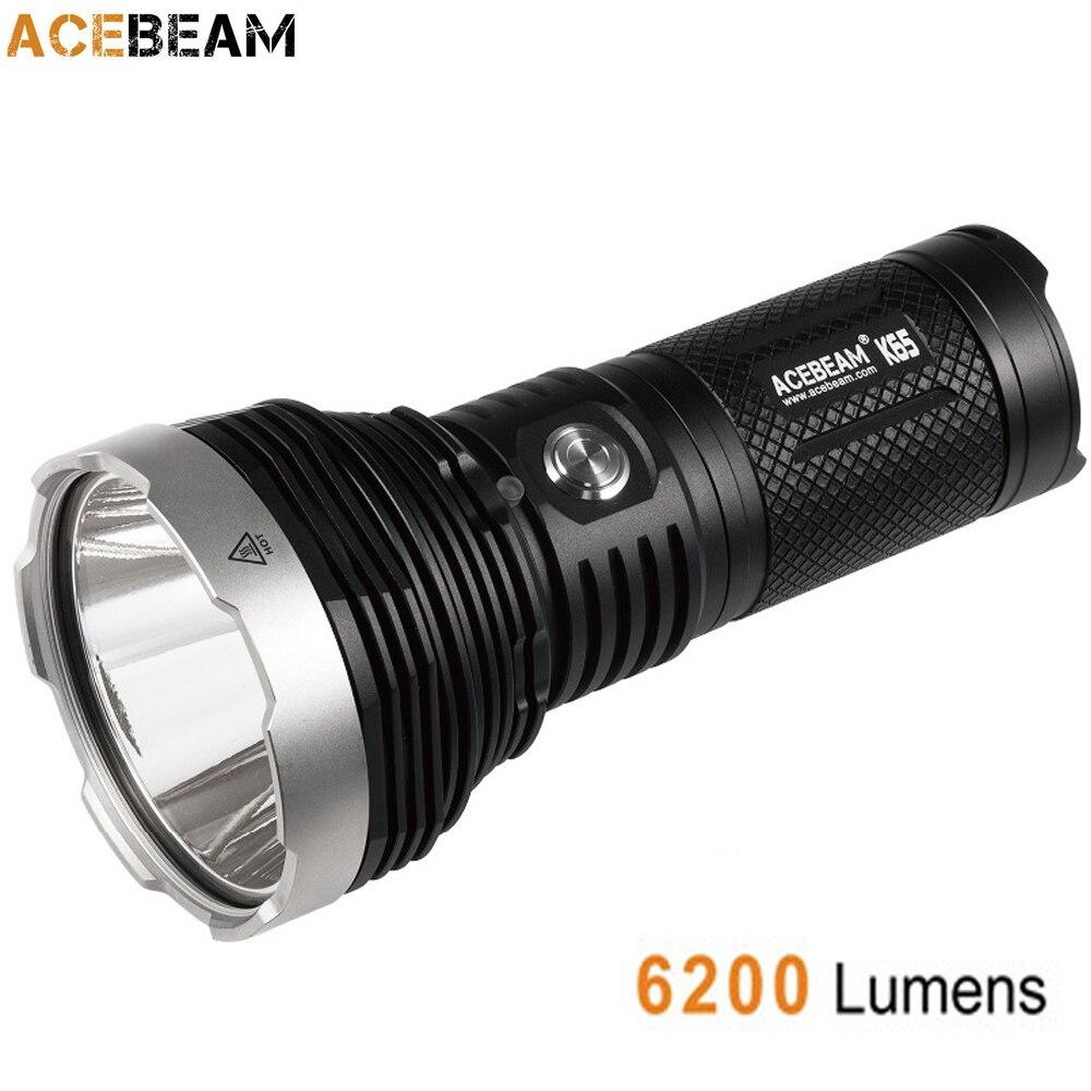Acebeam K65 ハンドヘルド懐中電灯 CREE XHP70.2 デ · moed LED 最大 6200 ルーメンビーム距離 1000 メートル屋外検索トーチ  グループ上の ライト & 照明 からの 懐中電灯 & トーチ の中 1