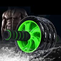 Muscle Three wheeled Abdominal Exerciser Roller Machine Gym Home Fitness Workout Equipment with Knee Pad