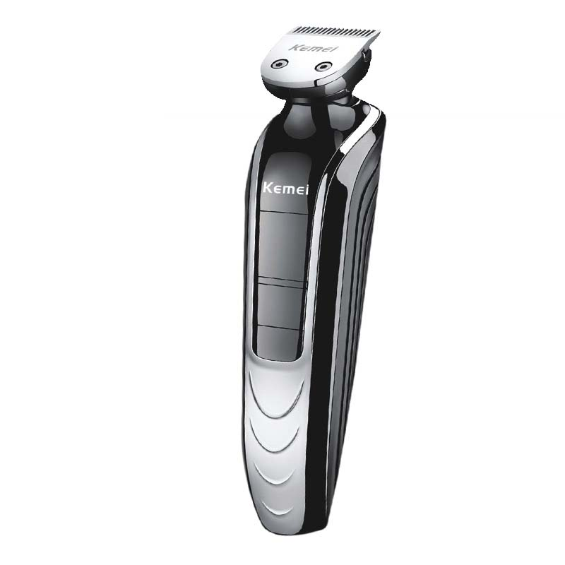 5 in 1 Waterproof Electric Hair Clipper Kemei Professional Hair Trimmer Shaver Beard For Men Waterproof Family Haircut Tool
