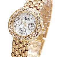 2017 New Luxury Brand G D Women Quartz Wristwatch Lady S Bracelet Watches Stainless Steel Relojes