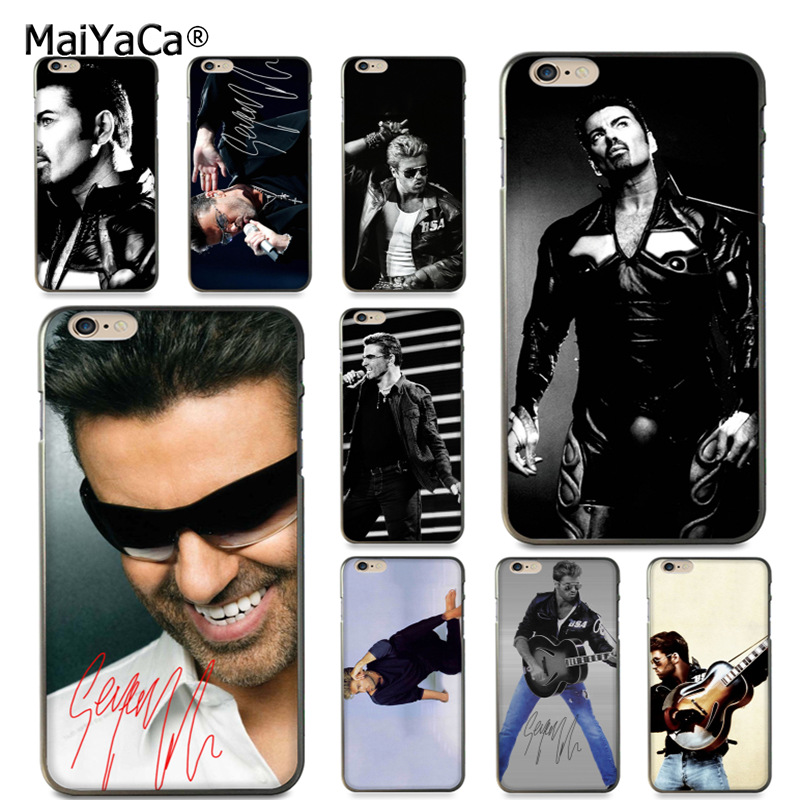 MaiYaCa George Michael Handsome Singer soft tpu Phone Accessories Case for iPhone 8 7 6 6S Plus X 5s SE 11pro max case shell