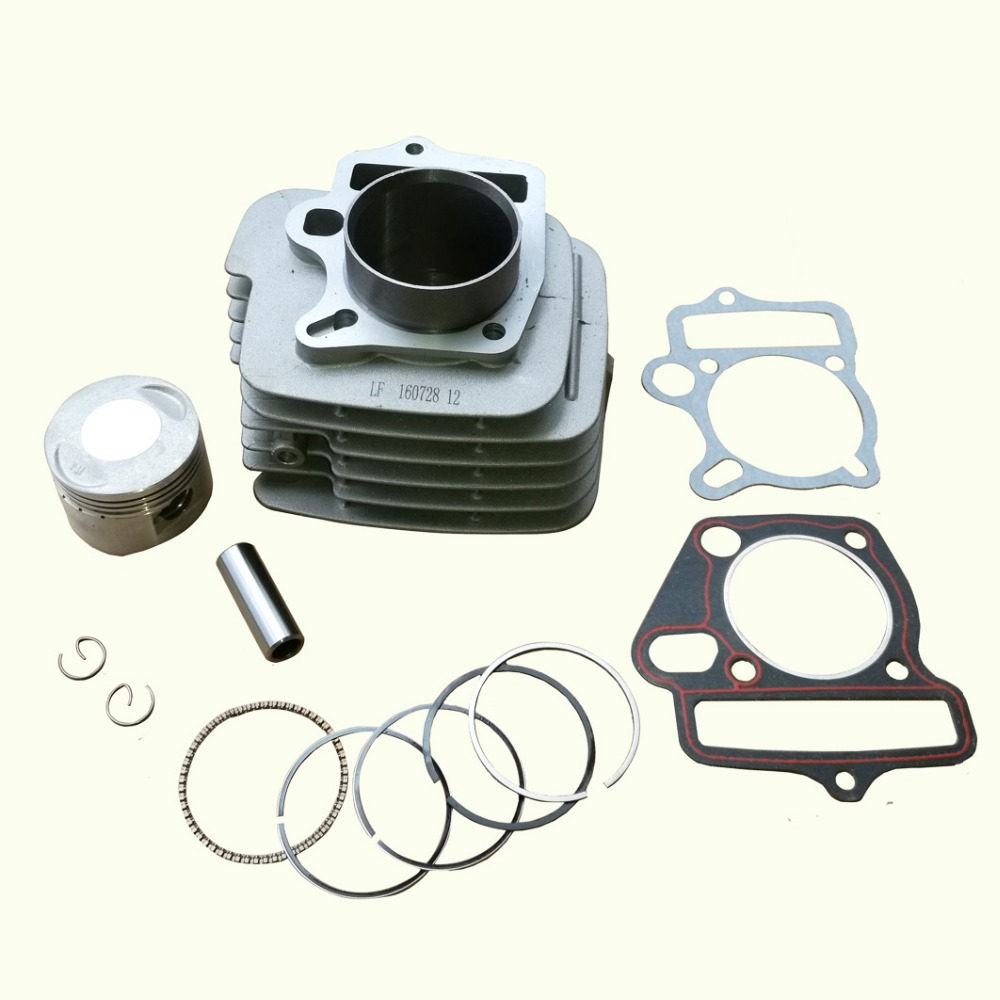 Dirt Pit Bike Part Engine Motor Cylinder 125cc Piston Loncin 1P52FMI 52.4MM 13MM