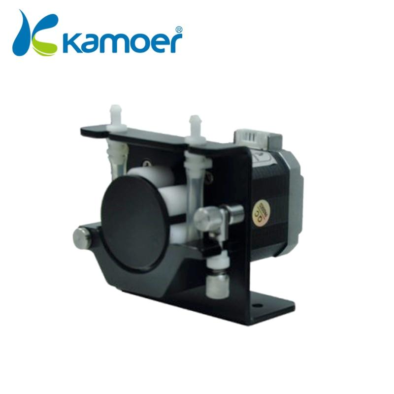 Kamoer KCS mini peristaltic pump 24V DC motor nimi electric water pump  electric pump pump water with high percision BPT 3.2*6.4 kamoer kcs mini peristaltic pump stepper motor 24v electric water pump