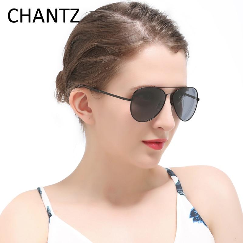 Vintage Polarized Sunglasses Wanita Pria 2019 Logam Klasik Kacamata - Aksesori pakaian