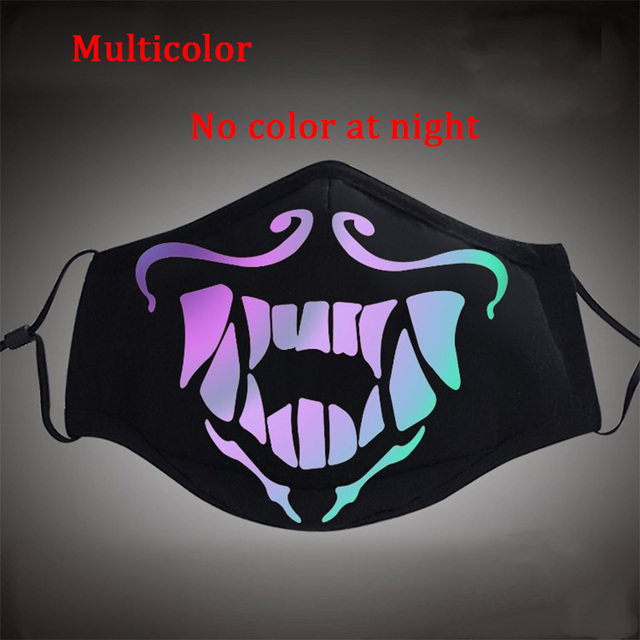 Game LOL KDA Akali Masque Cosplay Props S8 Mask Night Lights Face Masks Women Men Resist The Cold Wind Accessoires 1