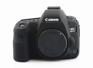 Image 3 - Silicone Armor Skin Case Body Cover Protector for Canon EOS 6D Mark II 2 6DM2 6D2 DSLR Camera ONLY